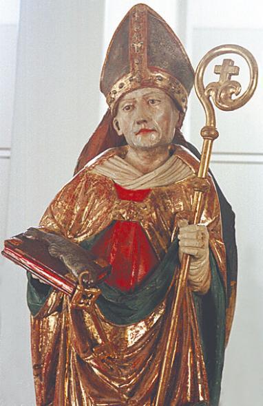 Bischof Benno Statue