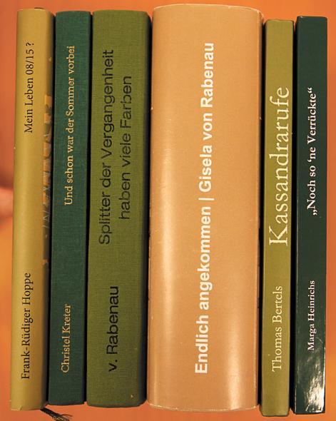 Biografien aus der Schreibwerkstatt