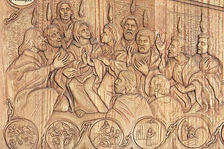 Holzschnitzerei Bleckede
