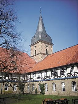 Kloster Wöltingerode Innenhof