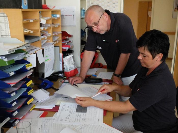 Malteser leisten medizinische Betreuung im Erstaufnahmelager Friedland