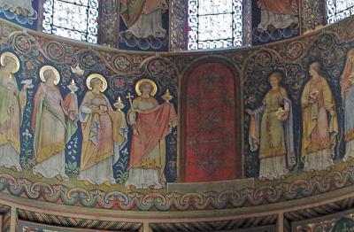 Wandgemaelde St. Godehard Hildesheim