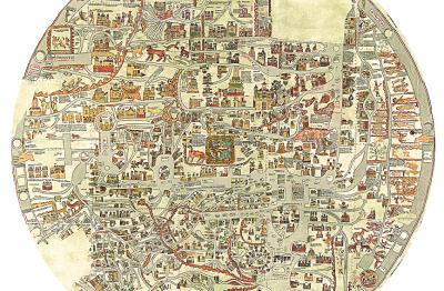 Weltkarte Kloster Ebstorf
