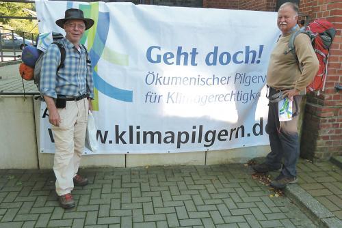 Rudolf Krewer und Dr. Ulrich Soergel aus Stadthagen